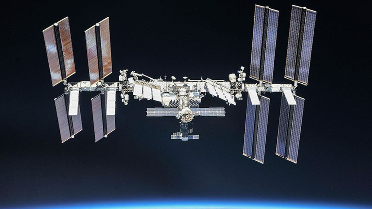 An unknown piece of space debris is expected to pass near the International Space Station Tuesday afternoon.