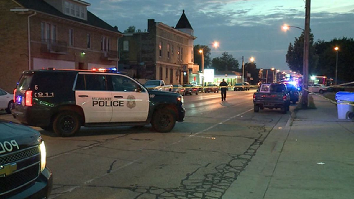 A mother was killed by a stray bullet in Milwaukee. (Source: WITI/Tribune/CNN)