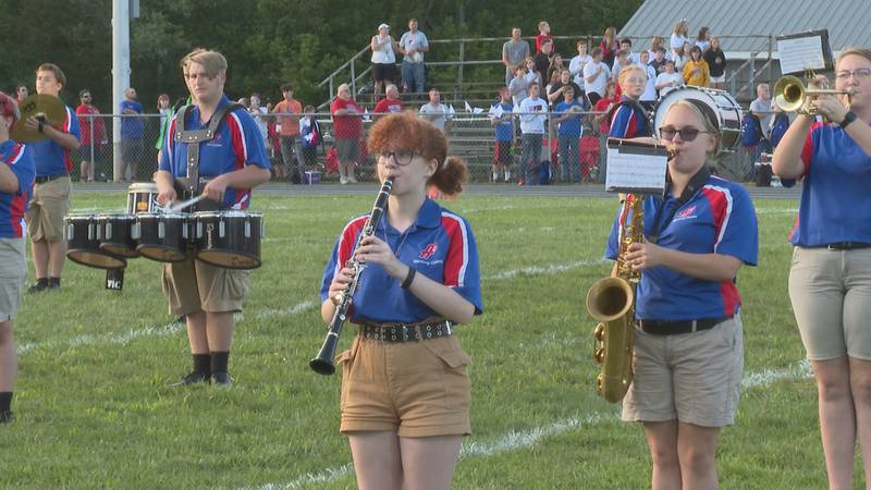 Fort Frye band pushes through member and instrument shortage