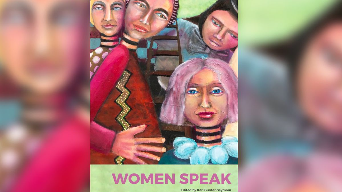 Cover of Women Speak, the anthology of the Women of Appalachia Project.