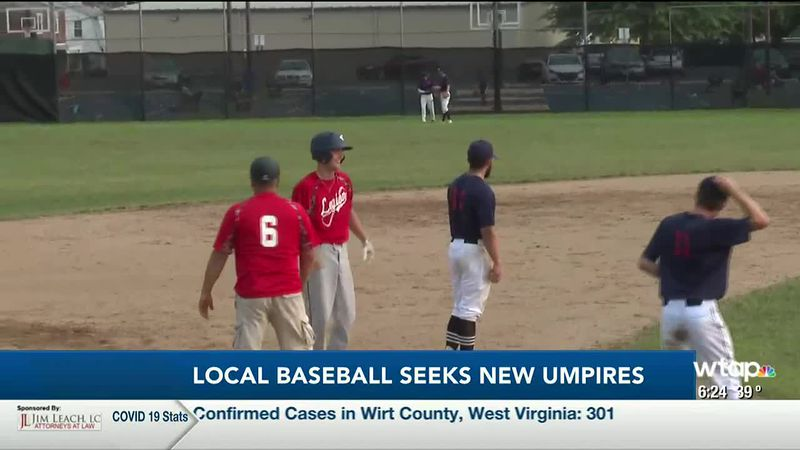 WTAP News @ 6 - Local baseball seeks new umpires