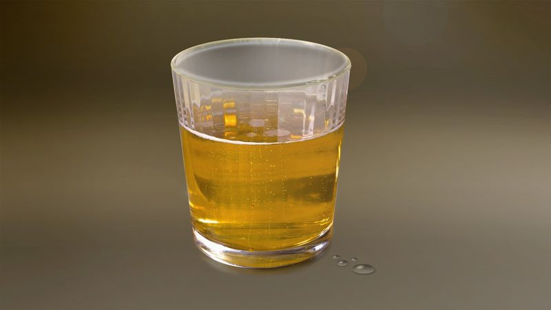 An alcoholic beverage.