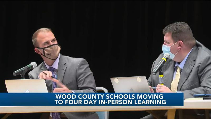 Wood County Schools will return to a four day in-person learning model