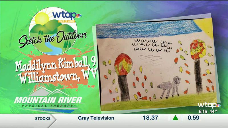 WTAP News @ 6 - Sketch the Outdoors winner Maddilynn Kimball