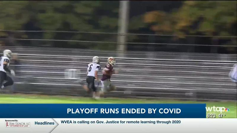 WTAP News @ 6 - Playoff runs ended by COVID-19