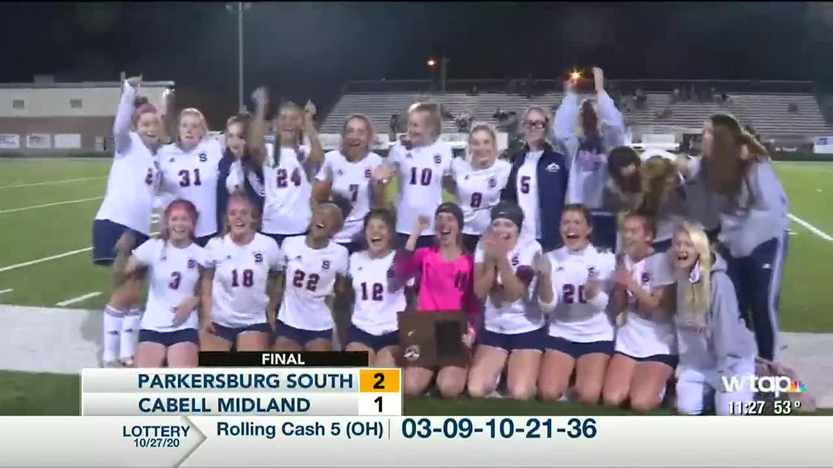 Parkersburg South punches ticket to girls state soccer tournament with 2-1 win over Cabell...