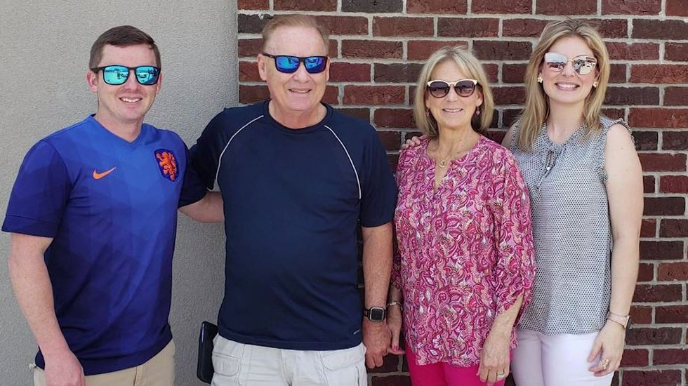 Candace Ayers' husband, Terry Ayers, and her two children, Marc Ayers and Amanda Foster, used...