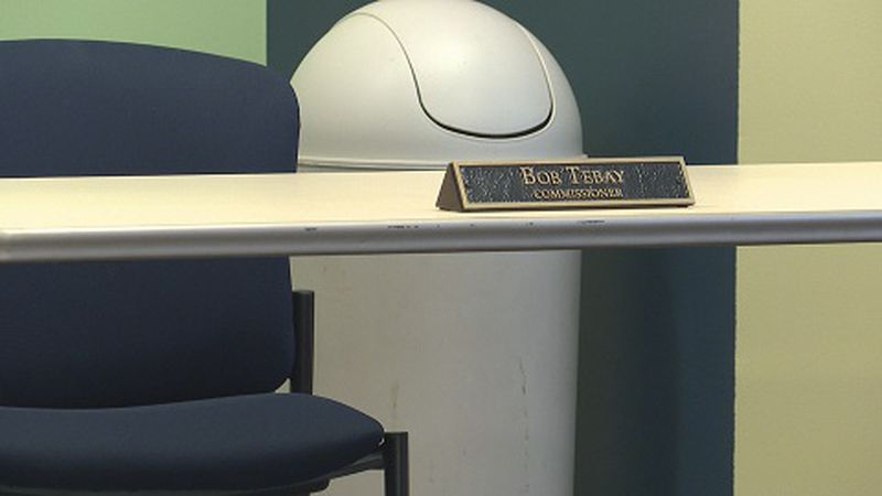 Bob Tebay's empty chair
