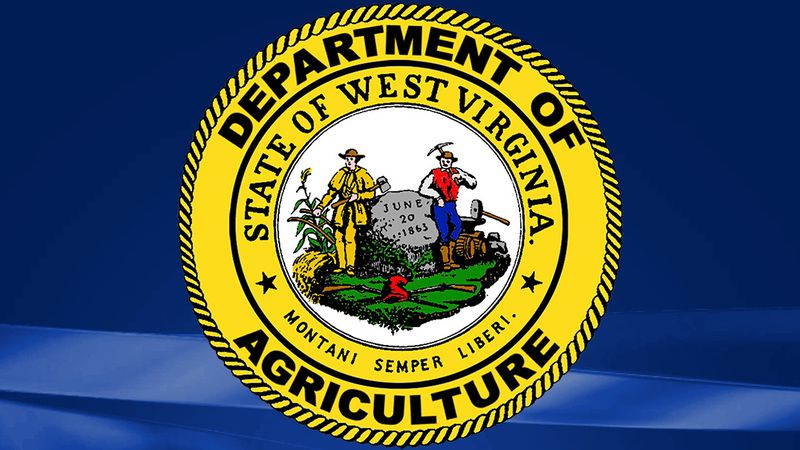West Virginia Department of Agriculture's official state seal