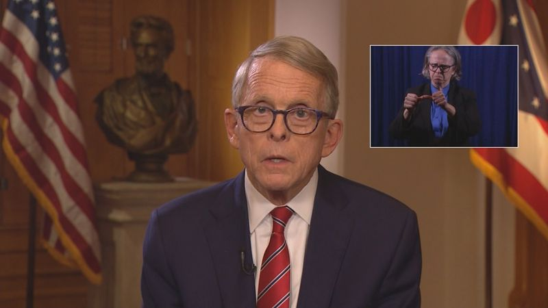 Ohio Gov. Mike DeWine said Wednesday in a statewide address that bar, restaurants and fitness...