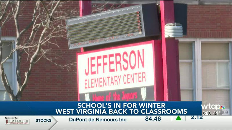 WTAP News @ 5 - Wood County students return to school