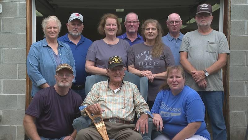 World War II Veteran, Bob Morris, celebrates 95th birthday