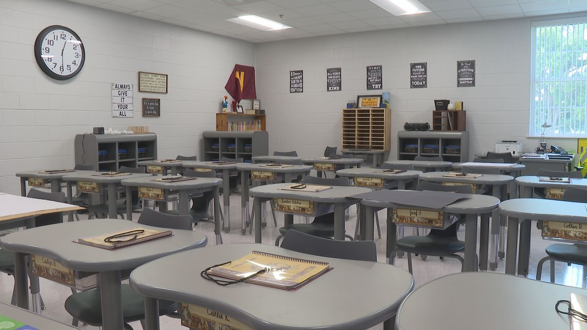 Classroom at Williamstown Elementary School