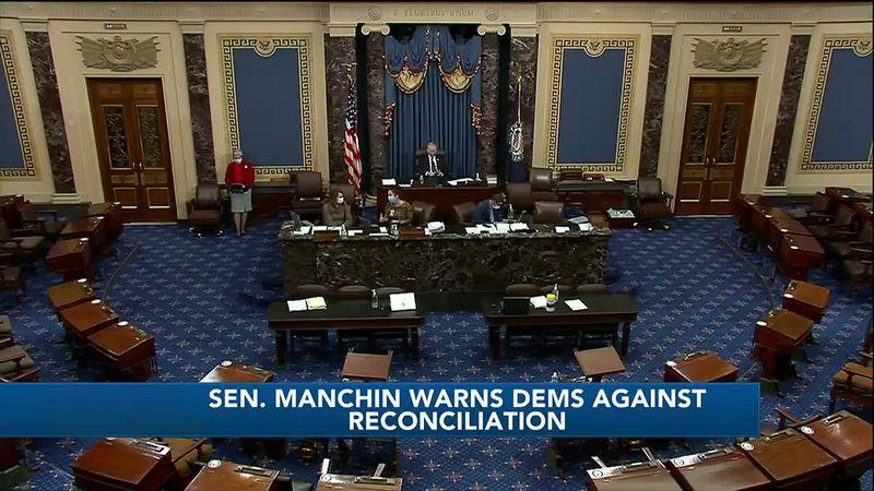 WTAP News @ 10 - Manchin warns dems against reconciliation