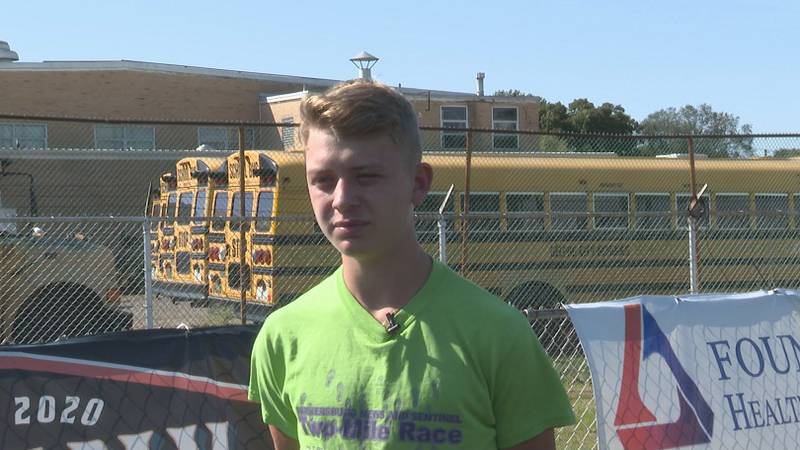 Blake Rodgers is WTAP Student Athlete of the Week