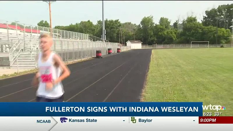 WTAP News @ 6 - Fullerton signs with Indiana Wesleyan