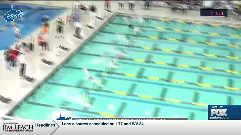 WTAP News @ 6 - W.Va. high swimming championships