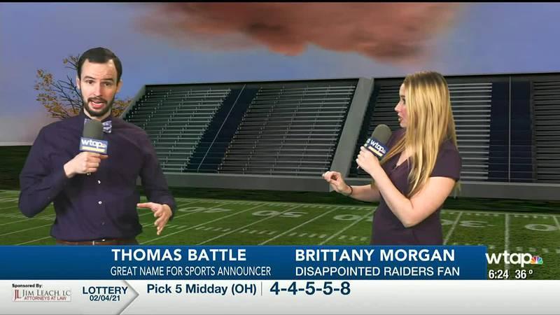 Thomas Battle and Brittany Morgan