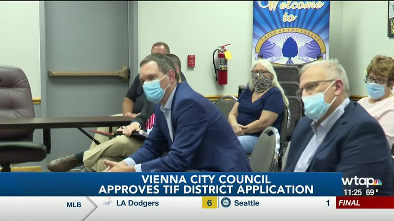 WTAP News @ 11 - Vienna City Council approves TIF district application
