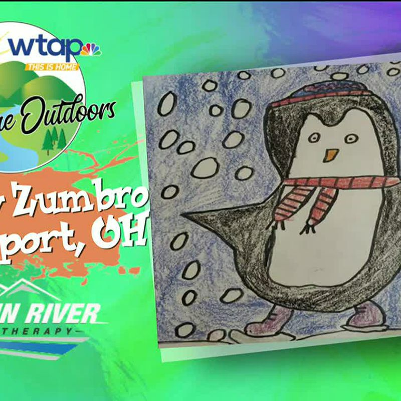 WTAP News @ 6 - Sketch the Outdoors Avery Zumbro