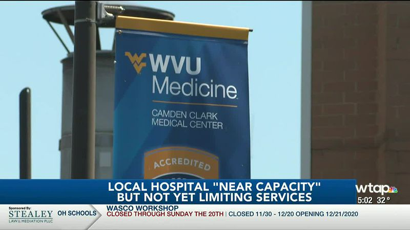"WTAP News @ 5 - Local hospital ""near capacity"" but not yet limiting services"