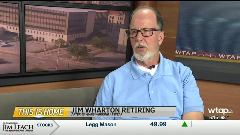 WTAP News @ 6 - Jim Wharton retirement