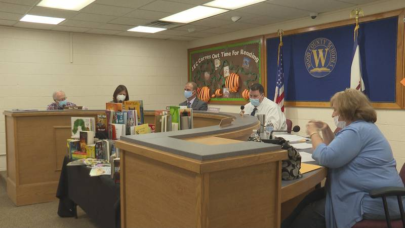 At Tuesday nights meeting, the Wood County Board of Education voted on two proposals for...
