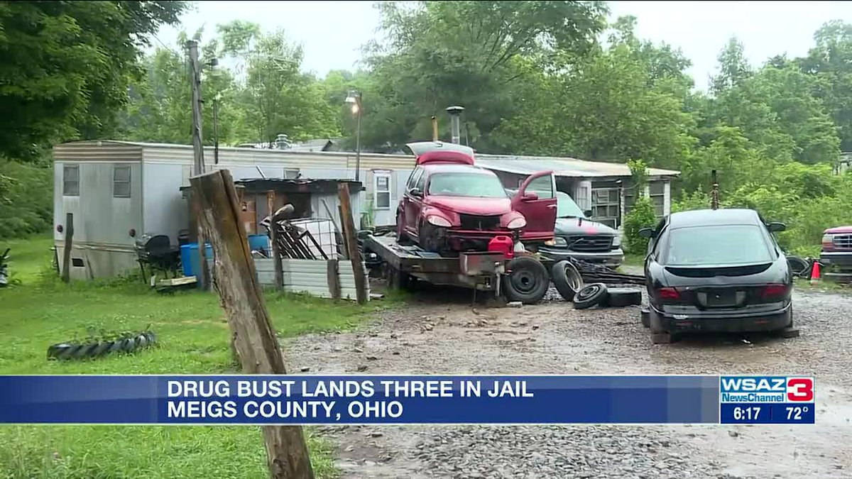 Drug bust lands three in jail