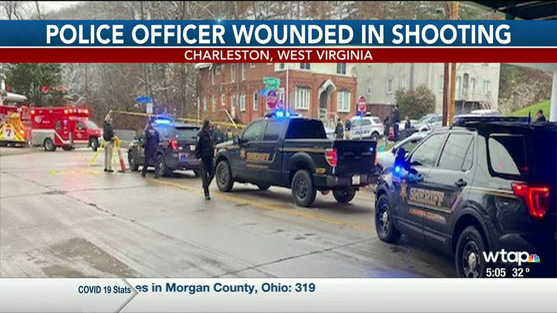 WTAP News @ 5 - Police officer wounded in shooting