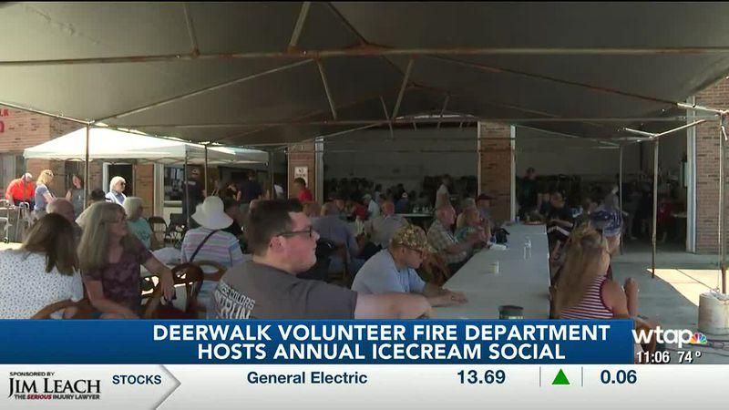 Deerwalk Volunteer Fire Department hosts Ice Cream Social