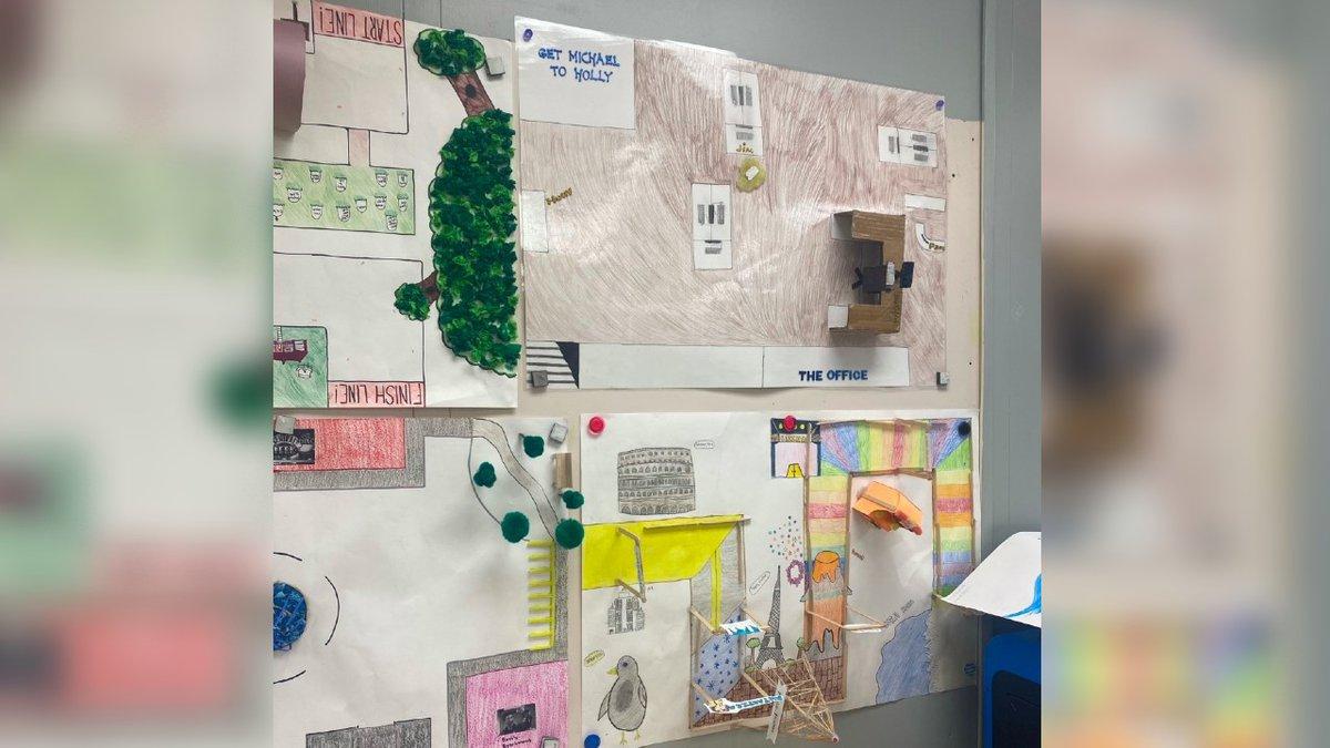 Blennerhassett Middle School maker spaces.