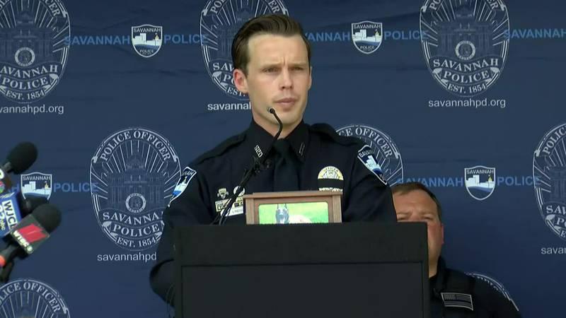 Memorial service held for fallen Savannah Police Department K9