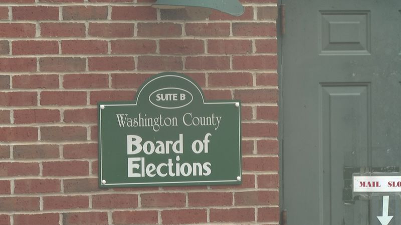 The Washington County Board of Elections completes canvass of November 3 votes