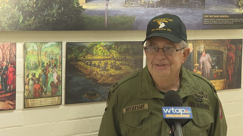 Jim Waybright served in the U.S. Army during the Vietnam War