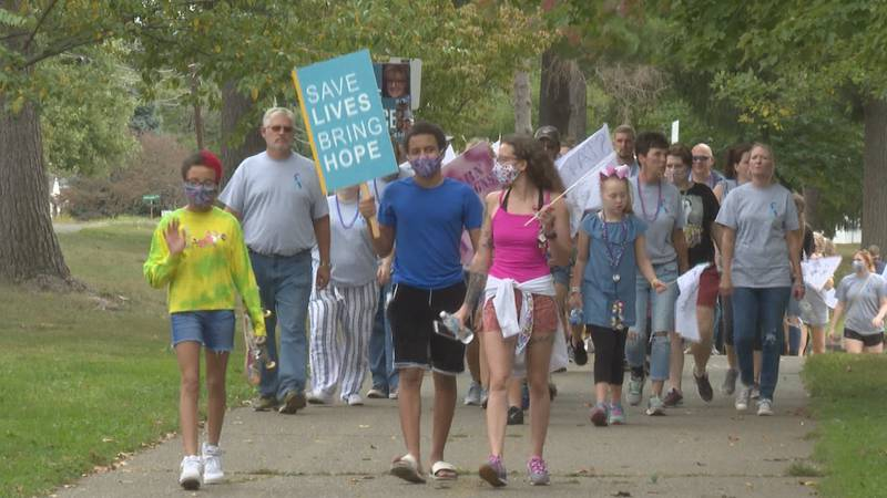 15th Annual Out of the Darkness Walk taking place this Saturday