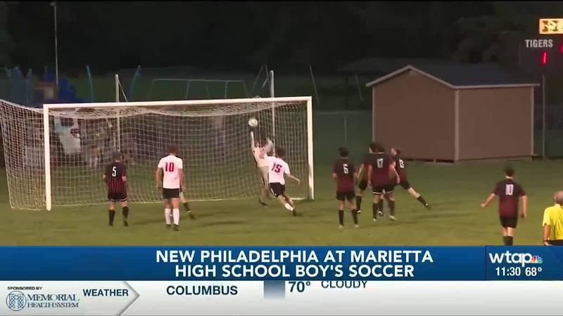 Marietta vs. New Philly soccer