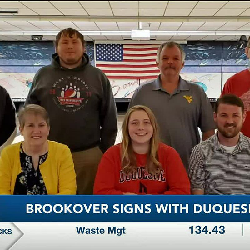 WTAP News @ 6 - Brookover signs with Duquesne