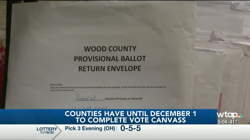 WTAP News @ 5 - Counties have until December 1 to complete vote canvass