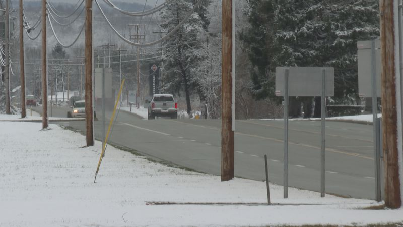 Ohio State Highway Patrol warning drivers of dangerous road conditions