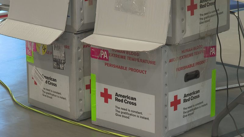 American Red Cross looking for blood donations more than ever