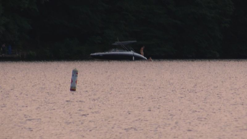 Officials say a boat exploded in Cheat Lake Sunday.