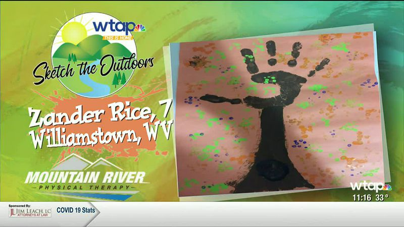 WTAP News @ 11 - Sketch the Outdoors winner Zander Rice