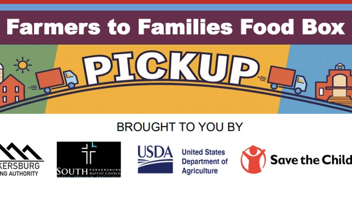 Farmers to Families food box pickup