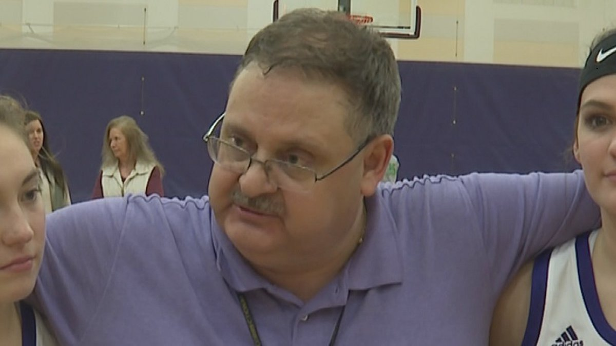 Howard Meeks coached the St. Marys Girls Basketball team since 2007
