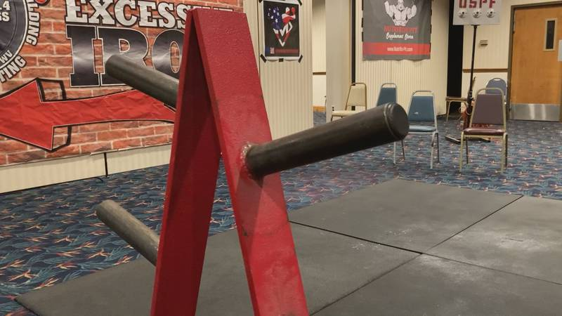 Powerlifters of all ages were at the Dils Center today competing in the United States...