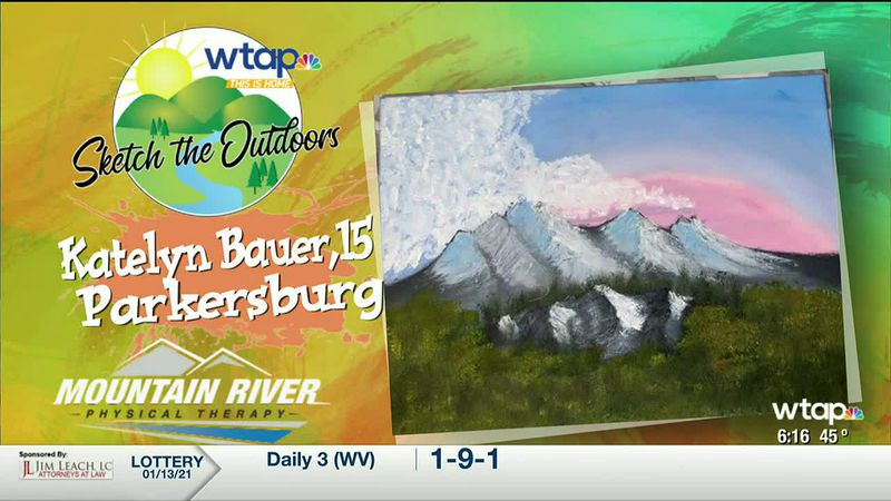 WTAP News @ 6 - Sketch the Outdoors winner Katelyn Bauer