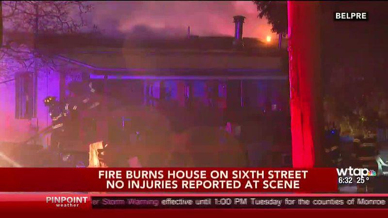 Belpre House Fire