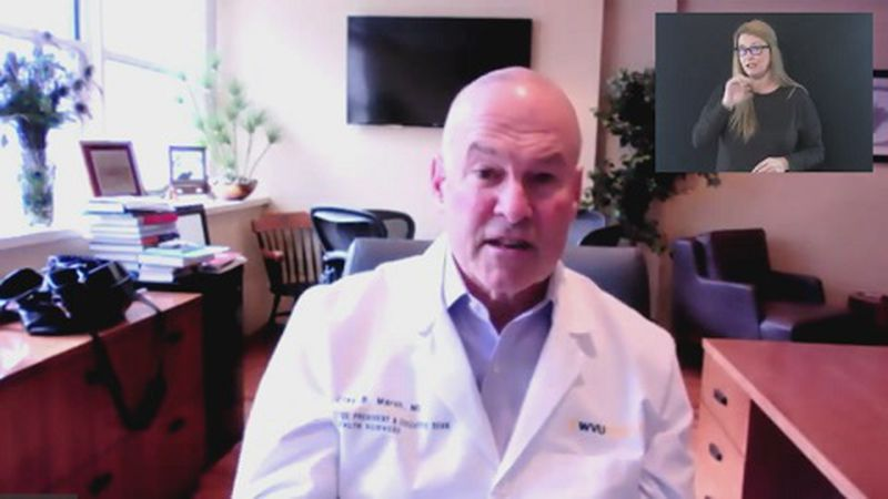Dr. Clay Marsh discusses the reduction in deaths and hospitalizations from coronavirus in West...