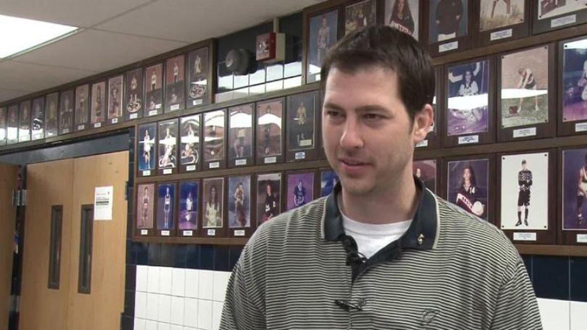 Todd Meckley, who teachers anatomy, biology and physiology at Parkersburg South High School, is...