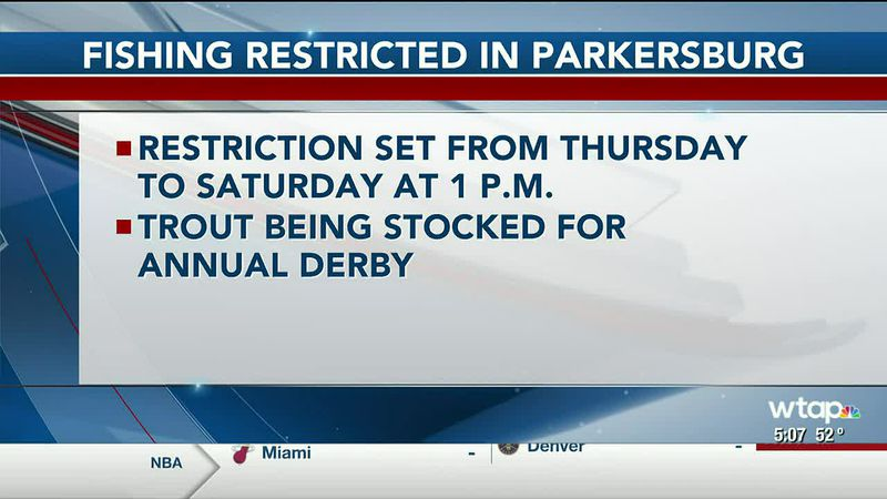 WTAP News @ 5 - Fishing restricted in Parkersburg